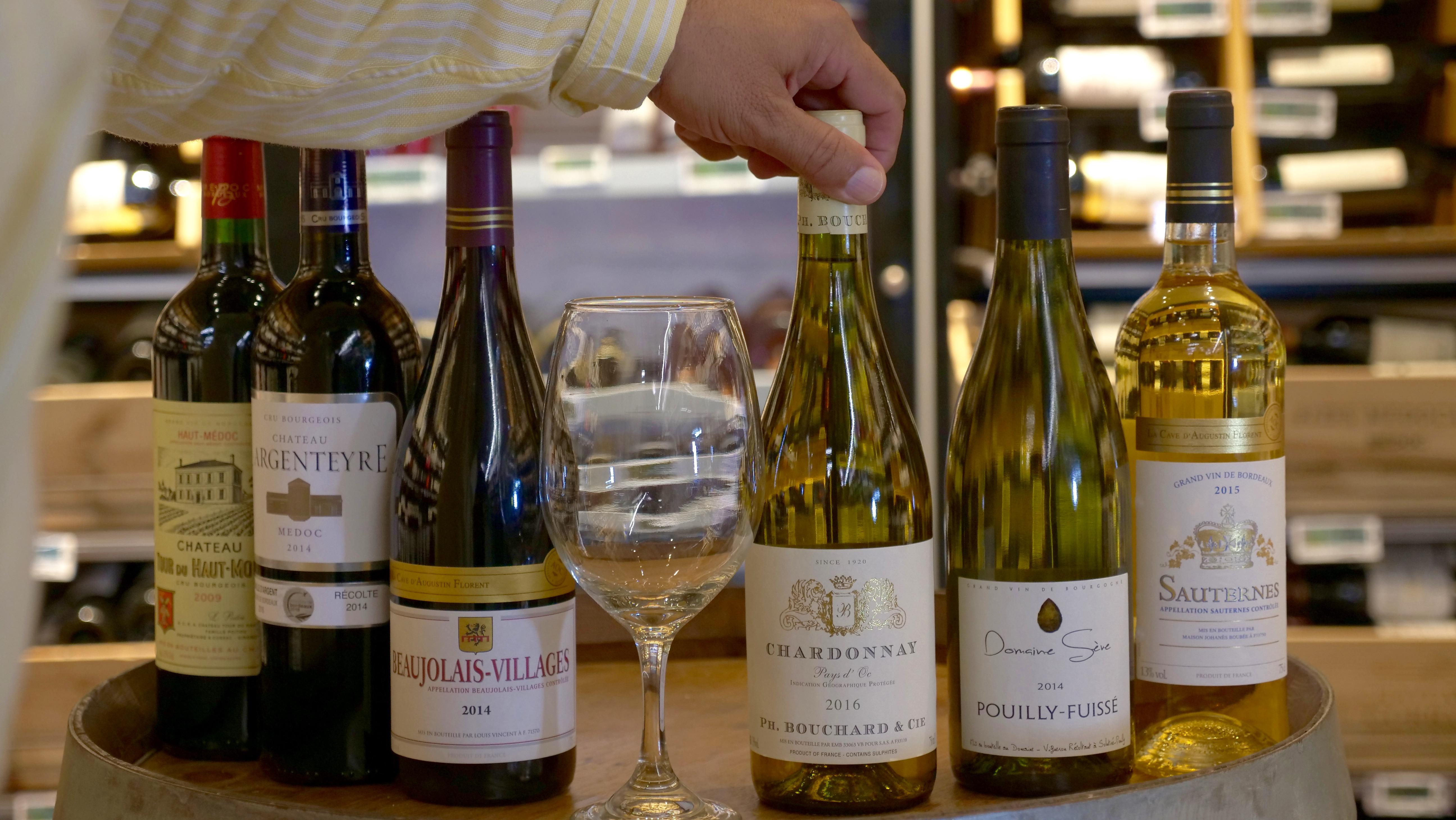 El Tip de Sergio: Temperatura de vinos blancos