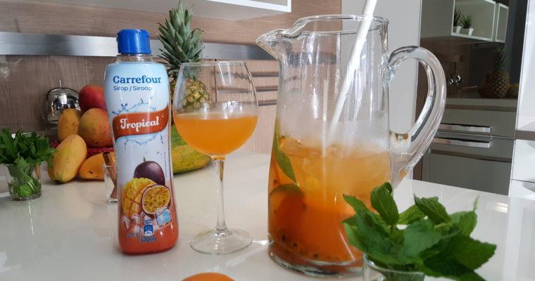 El Tip de Cathy: Cóctel de frutas tropicales