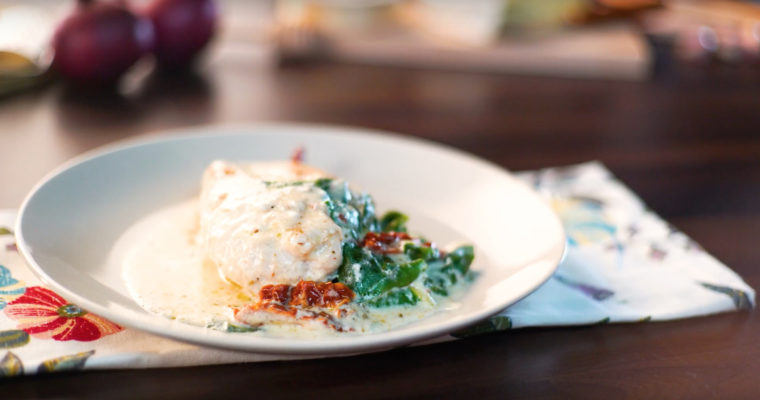 Receta Carrefour – Pollo a la Toscana
