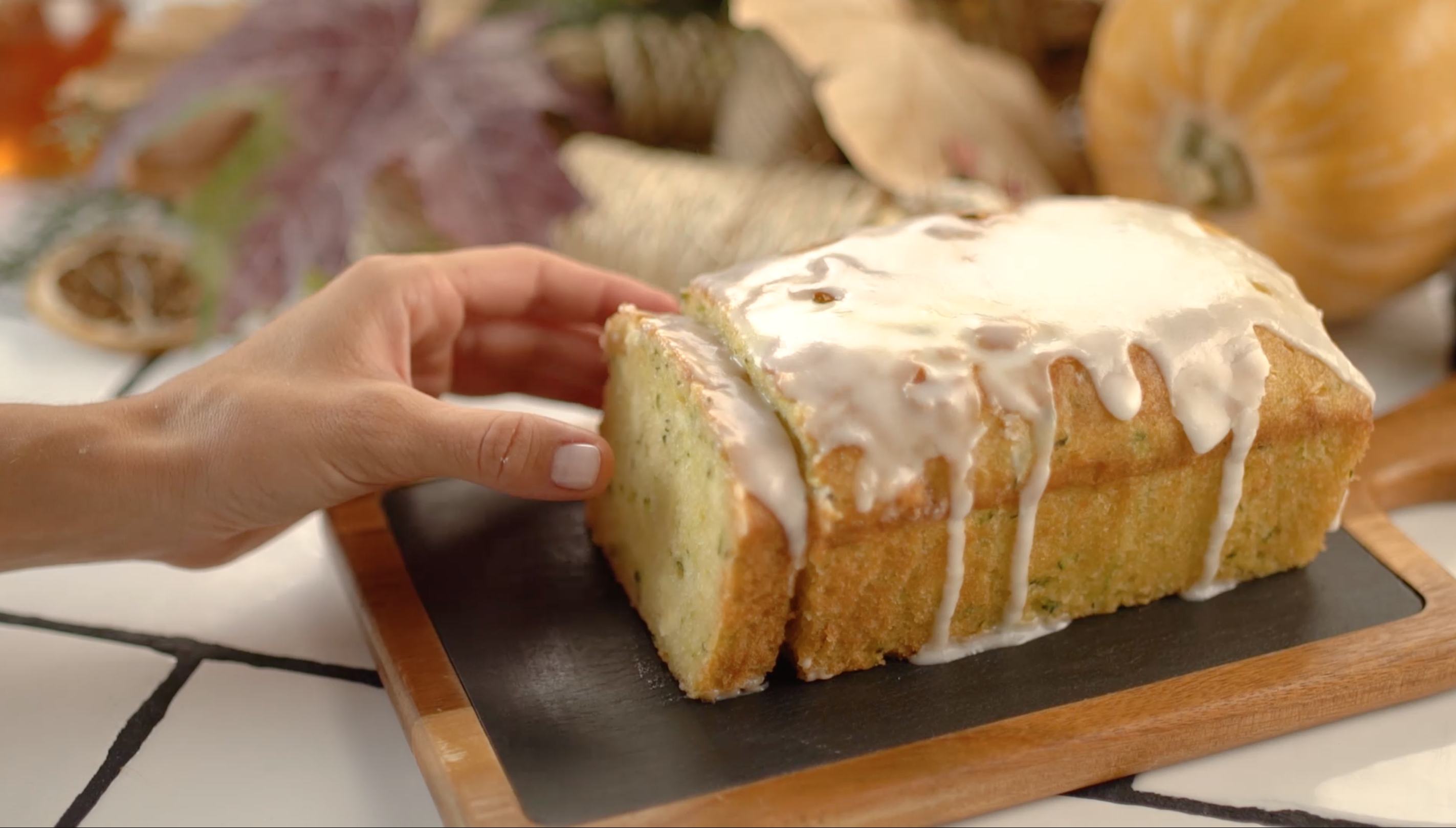 Receta Carrefour – Bizcocho de calabacín y limón