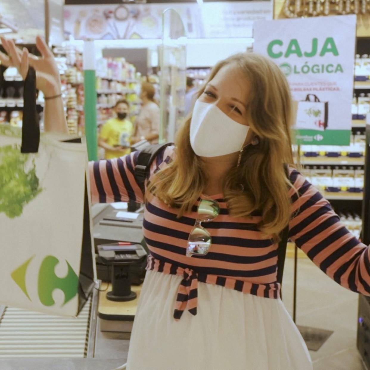 Caja Ecológica Carrefour Market